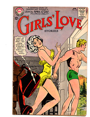 Girl's Love Stories # 110 (VG 4.0) 1965 DC Romance comic, Swimsuit cover