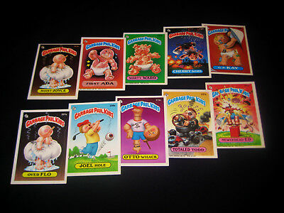 GARBAGE PAIL KIDS - 1986 Topps - 6th Series - Complete Set - 88 Cards - EX - OS6