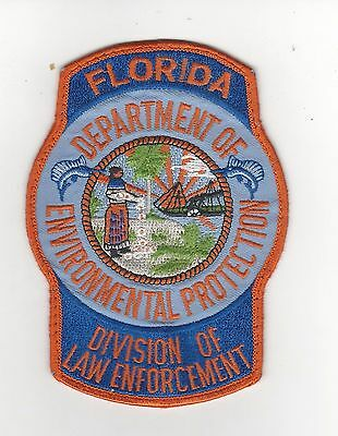 Fla Dept of Environmental Protection Division of Law Enforcement Patch- Florida