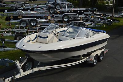 2002 Bayliner 215 Capri Bowrider, 5.0L 220Hp I/o, Fresh Water Use, W/ Trailer
