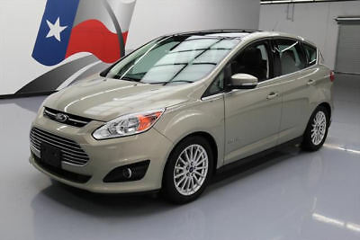 2015 Ford C-Max Hybrid SEL Hatchback 4-Door 2015 FORD C-MAX SEL HYBRID PANO SUNROOF LEATHER NAV 34K #116475 Texas Direct