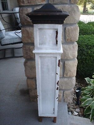 Antique Wooden Newel Stairway Post - Architectural Salvage Very Good Condition