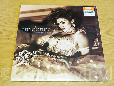 Madonna Like a Virgin Clear Vinyl LP Sealed limited edition