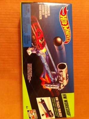Hot Wheels Track Builder Deluxe Cannon Launch Stunt Pack**NEW**