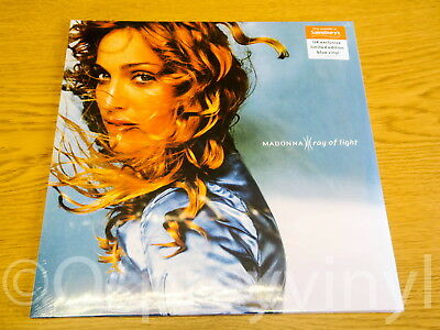 Madonna Ray of Light Double Blue Vinyl LP Sealed limited edition