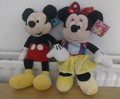 Disney Mickey & Minnie Mouse Soft Toys Plush Clubhouse