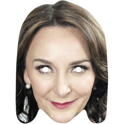 Shirley Ballas Strictly Come Dancing Celebrity Card Mask. All Masks Are Pre-Cut