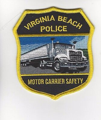 Virginia Beach Police Motor Carrier Safety Patch- Viriginia