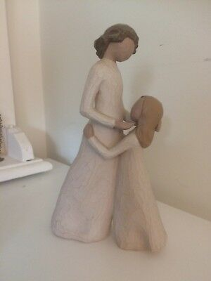 """Willow Tree """" Mother and Daughter """" Collectible Figurine - lovely item xx"""