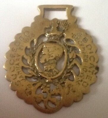 """Rare"""". Horse Brass Abdication Edward 6th To George 5th 1935/36."""