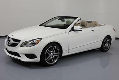 2014 Mercedes-Benz E-Class  2014 MERCEDES-BENZ E350 CONVERTIBLE P1 NAV REAR CAM 43K #254039 Texas Direct