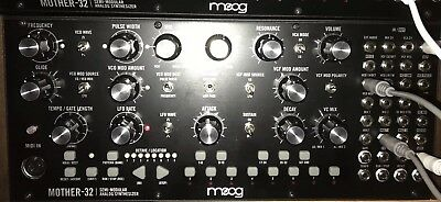 1 Moog Mother 32 Keyboard Synthesizer Used  Original Box