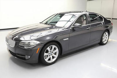 2013 BMW 5-Series Base Sedan 4-Door 2013 BMW 550I SUNROOF NAV REAR CAM HUD HTD LEATHER 55K #X80236 Texas Direct Auto