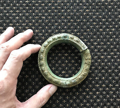 1 x Authentic Ancient 12th Century AD Angkor Wat Kingdom Bracelet with Stand