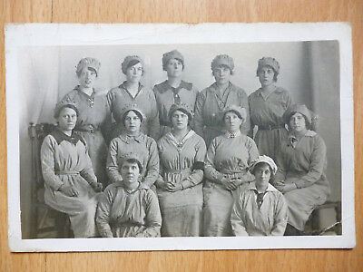 Munitions Workers Sent By One Of The Girls  Photo By Moyse Muswell Hill& Enfield