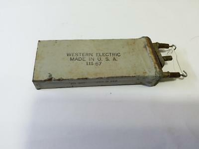 Western Electric pre-amp, power amp use 0.165UF 234G oil capacitor 1pcs.