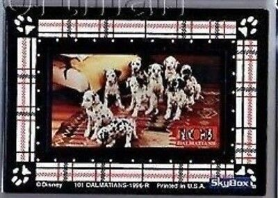 1996 Skybox 101 Dalmation Puppies 2 Piece Magnet