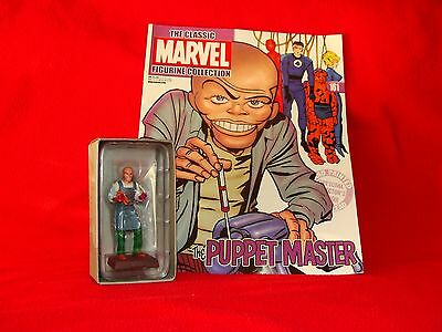 "n°161 PUPPET MASTER""classic marvel figurine collection""état neuf sous blister"