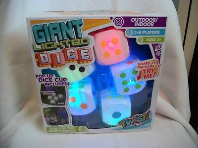 Twist Time Giant Lighted Dice