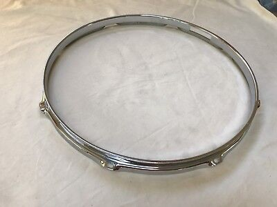 "Ludwig 60s Vintage 14"" Snare Drum Hoop COB Brass! Jazz Festival Super Classic"