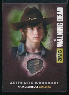 2016 The Walking Dead Season Four Memorabilia #M17 Chandler Riggs as Carl Grimes