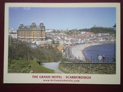 Postcard Yorkshire Scarborough - The Grand Hotel