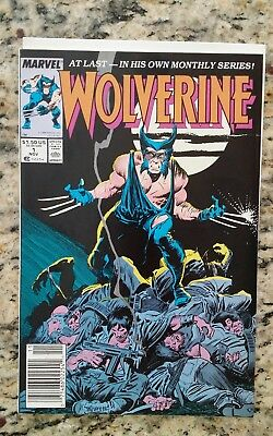 Wolverine #1 1988 series, NM condition.
