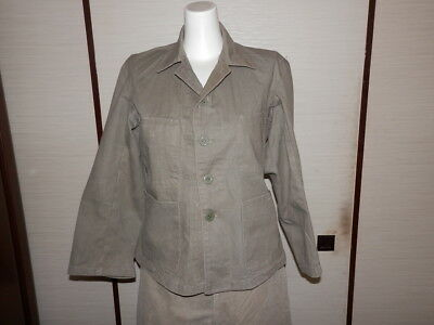 WW2 Japanese Army Battle clothes of short sleeves for summer.1945 Good.2-1