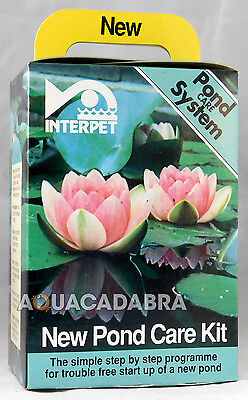 @Interpet New Pond Care Kit- fast, cheap,safe, reliable way to set up a new pond