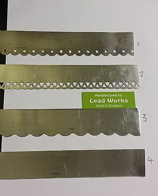 "Lead flashing for dolls houses 1"" x 12"""