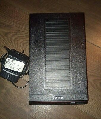 Vintage Modem US Robotics Courier Dual Standard V.34 Fax V.32 bis & Power Supply