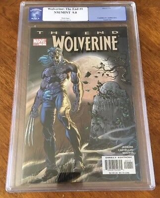 WOLVERINE THE END #1 CGC 9.8 MOON COVER white pages