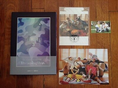 BTS NOW3 DREAMING DAYS (BTS in Chicago) Photobook +DVD + Photocard + Mini Poster