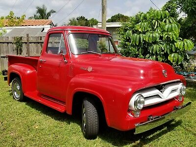 1955 Ford F-100  Ford F100 1955.