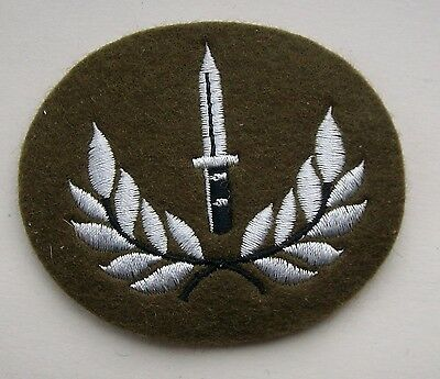 British Army Issue 1st Class Infantry Trade Patch / Badge.