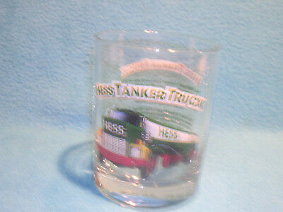 Hess 1996 Classic Truck Series 1984 Tanker Truck Vintage Glass Tumbler Free Ship