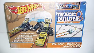 NIB Hot Wheels Mattel Playset Track Builder System Spin Launch DNB70 Ages 4+