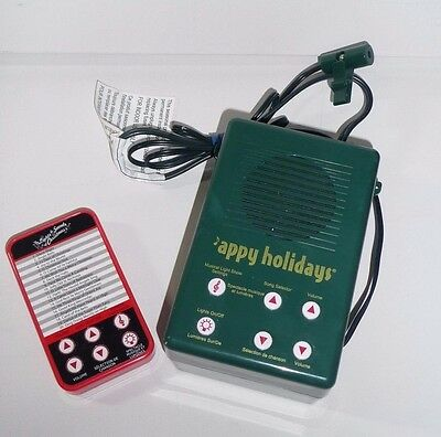 Mr Christmas The Lights & Sounds Of Christmas 20 Songs Model 60401 With Remote