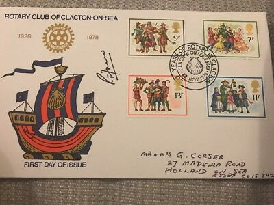 Rotary Club Clacton First Day Cover