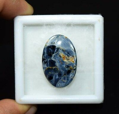17.90 Cts. 100 % Natural Chatoyant Pietersite Oval Cabochon Untreated Loose Gems