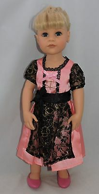 """Gotz Pink """"maria"""" dress outfit fit other 18"""" dolls"""