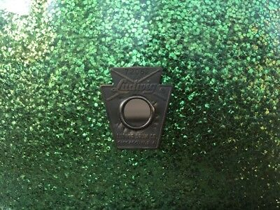 Vintage 60's  Ludwig Green Sparkle  Snare drum With Gig Bag