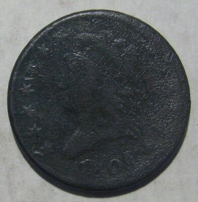 1808 Large Cent Damaged Take a Look