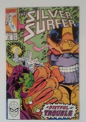 silver surfer #44 (vol.2) 1st infinity gauntlet