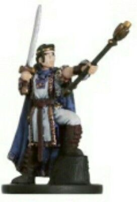 Dungeons and Dragons Miniatures - Valorous Prince RARE 10/60 Deathknell