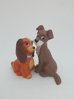 Disney Lady And The Tramp Plastic Figures/cake Decorations