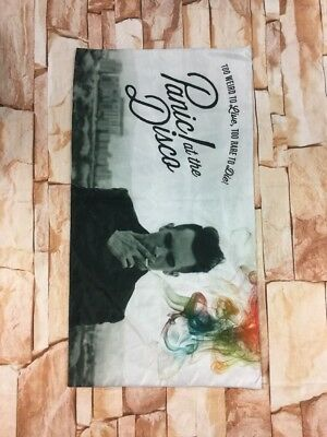 """Panic at the Disco Pillow Case Too Weird to Live, Too Rare to Die 19"""" x 36"""" PATD"""