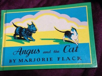 """Scottie Storybook: """"angus And The Cat"""" - 1931 - Marjorie Flack"""