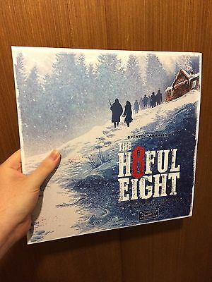 "Ennio Morricone & V/A - The Hateful Eight (12"" Double Vinyl LP Soundtrack)"