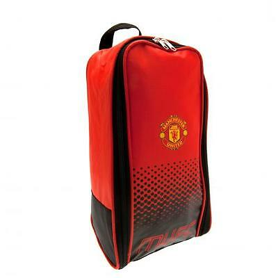 Manchester United Boot Bag Shoe Gym Gift New Official Licensed Football Product